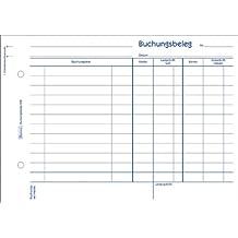 Buchungsbeleg A5 50Bl