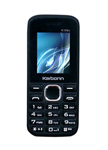 Karbonn K106s (black-red)