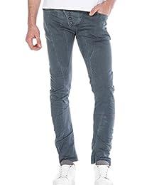 Red Bridge Herren Straight Cut Jeans Röhrenjeans Hose Grau W38 L34