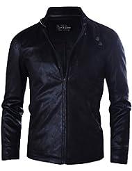 Tom's Ware Mens Premium Sim Fit Moto Modern Waister Jacket