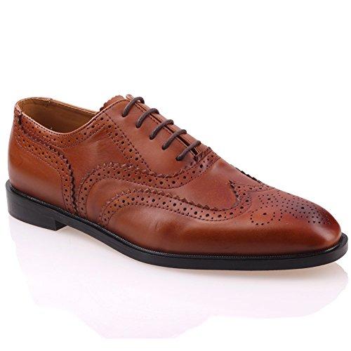 Unze Hommes Johanis ' Lacées Chaussures Habillées en Cuir
