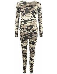 Fast Fashion - Filles à manches longues imprimé Survêtement Bain et confort Costume Set