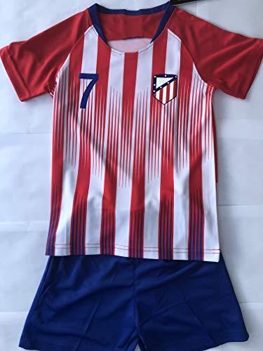 4F sport performance - Maglia a Maniche Corte Atletico Madrid Griezmann, 14 Anni