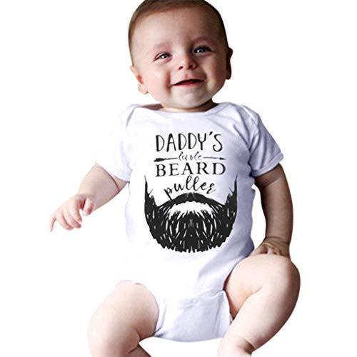 Overall Baby Sommer Newborn Infant Boy Girl Romper Letter Moustache Bodysuit Outfits (Nemo Girl Kostüm)