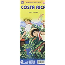 Costa Rica Travel Reference Map 1 : 300 000 (International Travel Maps)