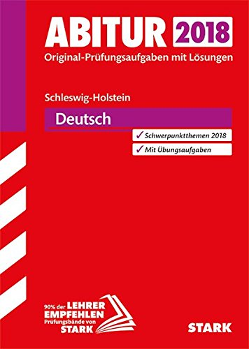 Abiturprüfung Schleswig-Holstein - Deutsch