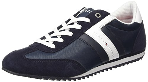 Tommy Hilfiger B2285RANSON 8C_1 Scarpe Low-Top, Uomo, Blu (Twilight 260), 40