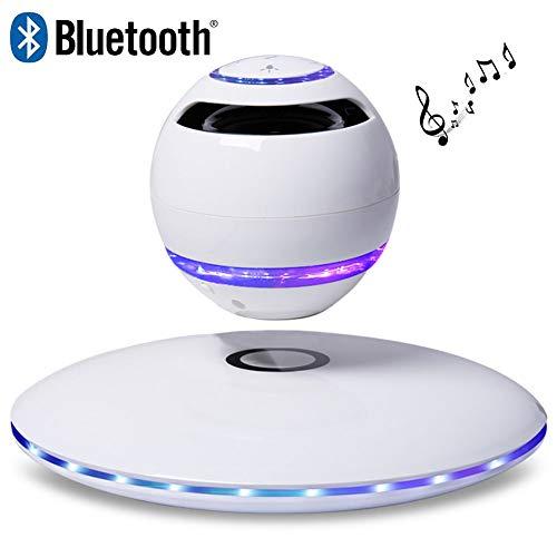 LIRONG Haut-parleur Bluetooth LED Technologie de réduction de Bruit intelligente sans fil Bluetooth 4.0 Haut-parleur flottant 905 Bluetooth