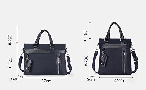Borsa A Tracolla Degli Uomini Borsa Impermeabile Oxford Tessuto Imbottito Business Bag Borsa Borsa Trasversale Borsa Fashion Casual Black1