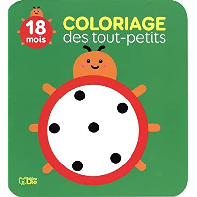 Coloriage des tout petits: La coccinelle - Dès 18 mois