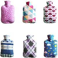 6pcs Wärmflasche Bettflasche Handwärmer Taschenwärmer Schutzhülle verbrühschutz Abdeckung für 2000ml Wärmflasche preisvergleich bei billige-tabletten.eu