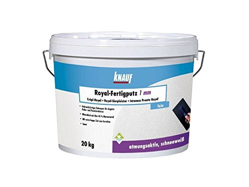 Knauf Royal-Fertigputz Rollputz 1,0 mm 20 Kg