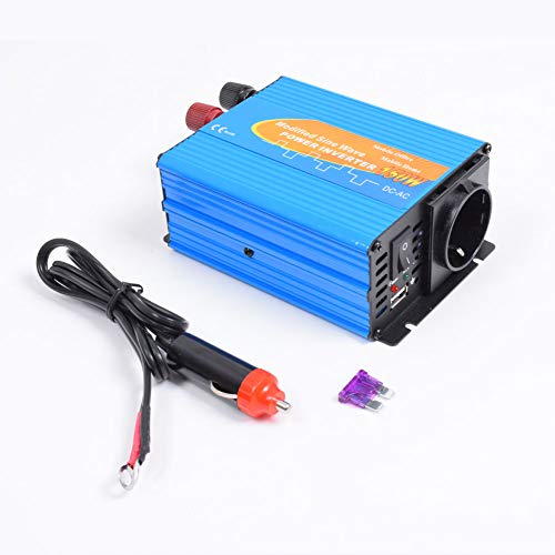 DC Getter 150W Modified Sine Wave Car Power Inverter 12V to 240V Converter Car Adapter with 5V/2.1A USB Port & Cigarette Lighter Dc Power Inverter