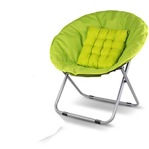 Inys-C Tragbare klappstuhl, Lounge Stuhl, Schlafzimmer Stuhl, mond Stuhl,Green,Chair - Baldachin Schlafzimmer Möbel