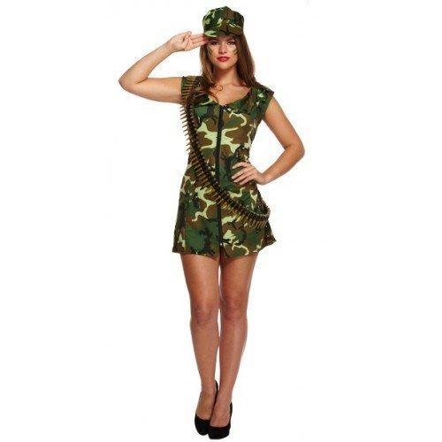 Golf Sexy Outfit (De golf con diseño de diseño militar de pareja de traje de neopreno para Mujer Sexy Army en forma de gallina Do para bicicletas con soporte disfraz infantil de atuendo)