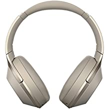 Sony Kabelloser High-Resolution WH-1000XM2 Kopfhörer (Noise Cancelling, Bluetooth, NFC, Headphones Connect App, bis zu 30 Stunden Akkulaufzeit) Gold