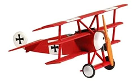 1/63 Die-Cast Fokker DR-1, Red Baron by Model Power (English Manual)