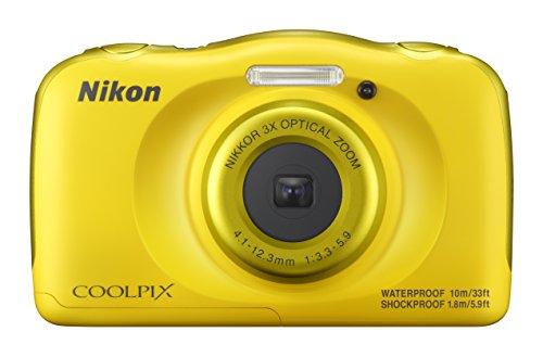 Nikon Coolpix W100 Kamera gelb (Nikon Coolpix Wasserdicht)