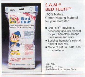 Penn-Plax Bett Fluff für kleine Tiere, 85G -
