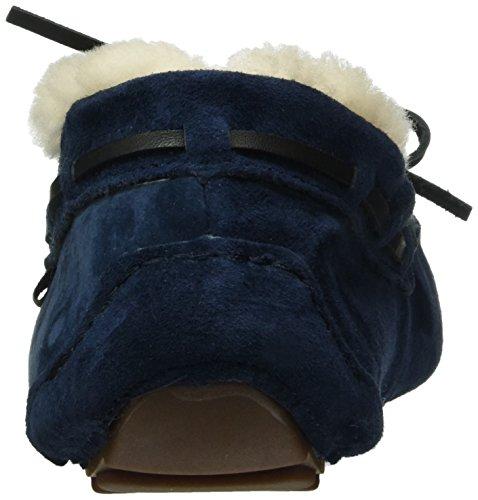 Gabor Home 99004, Chaussons à doublure chaude femme Bleu - Bleu marine