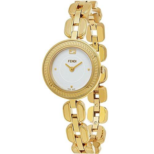 FENDI Women's My Way 28MM Gold Plated Bracelet Swiss Quartz Watch F351424000
