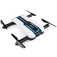 JJRC H61 720P Camera Selfie Drone Wifi FPV Foldable Drone RC Quadcopter 6Axis Gyro Mini Dron RC Helicopter Phone Control by JJRC