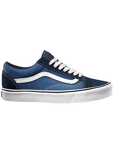 Vans Old Skool Lite Plus, Baskets Basses Mixte Adulte Bleu (Suede/Canvas/Navy/White)