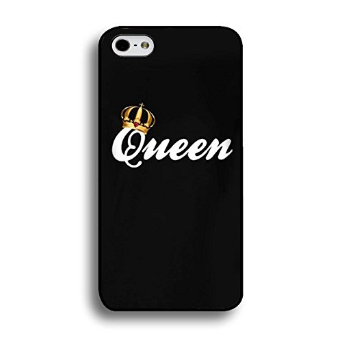 New Style Fashion Luxury King and Queen Couple Phone Case for IPhone 7 Phone Cases PC Back Mate Covers Case Color214d