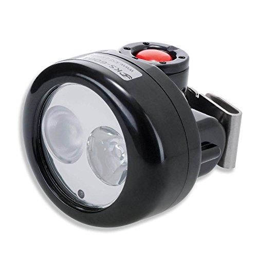 uvex LED-Kopflampe KS-6001 DUO für Schutzhelm pheos B, pheos B-WR, pheos B-S-WR, pheos IES, pheos alpine