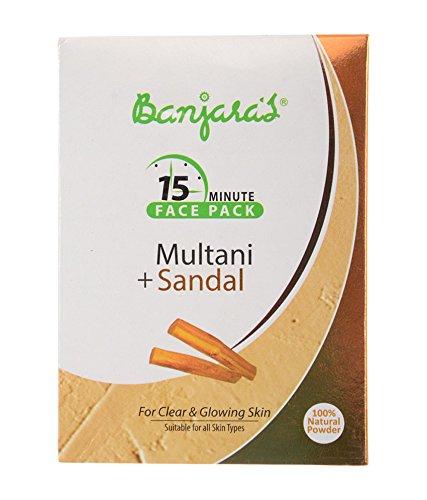 banjara-multani-mitti-mit-sandale-face-pack-fur-klare-und-soft-skin-100-g-5-sachets-nach-innen