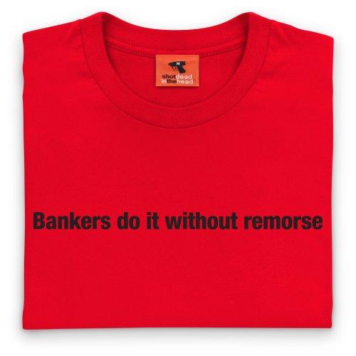 Square Mile Remorse T-Shirt, Herren Rot
