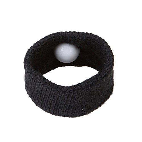 Iyhfxvcbd creative anti nausea morning motion sickness viaggio braccialetti da polso auto sea plane (nero)