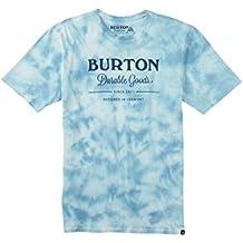 Burton Washed up Short Sleeves–Camiseta, hombre, WASHED UP SHORT SLEEVES, Durable Goods Tie Dye, medium
