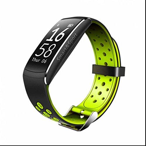 Fitness Armband,Fitness Tracker mit Herzfrequenz Smart Watch mit Touchscreen Aktivitäts-Tracker,Herzfrequenz,Schrittzähler,Schlaf Monitor,Kalorien Tracker herzfrequenz monitor stoppuhr für Android iOS Smartphone