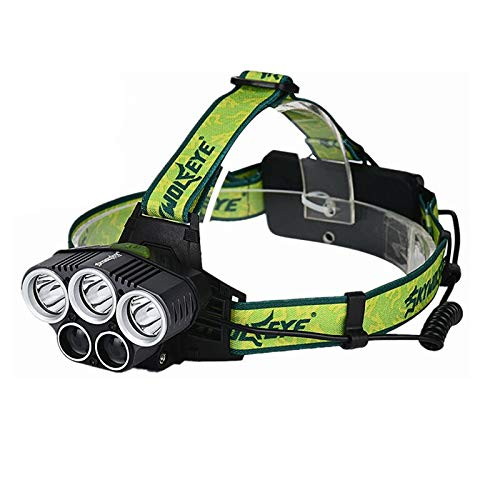 Stirnlampe T6 Scheinwerfer 20000 Lumen 4 Modus Led-scheinwerfer USB Power Wiederaufladbare Jagd Kopf Licht
