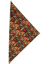 fabfive–HAV de a de Hank–Original fabricado en Estados Unidos Bandana–Red Flame, unisex, color Rojo - rojo, tamaño One Size / Ohne Größe
