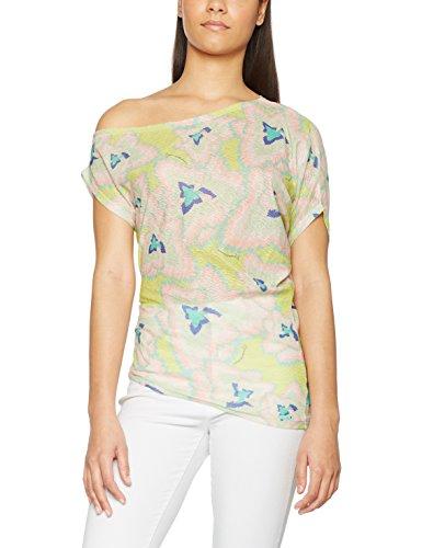 AmarilloLimon Ivy, T-Shirt Femme Jaune