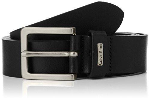 Calvin Klein - Cintura Mino Belt 3, Uomo, Black, 85 cm