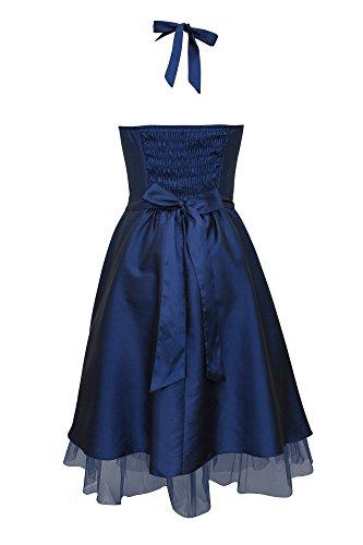 Black Butterfly Robe De Bal Imprimé Floral Cherish 'Rita' Bleu