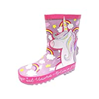 Buckle My Shoe Magic Unicorn Thick Rubber Wellies