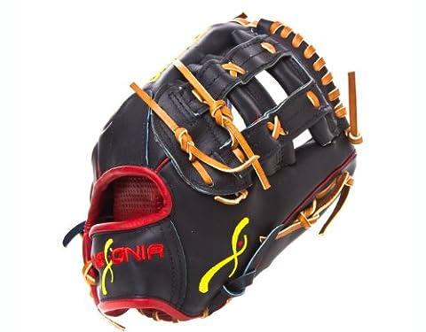 Insignia Clasico Baseball Handschuh mit h-web (11.50-inch, Marineblau)