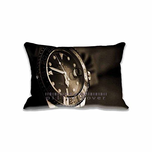 Home Decorative Rolex Pillow Cover Cotton and Polyester Pillow Cases Standard Pillow Protector 20'x 30'Christmas Home Decorations