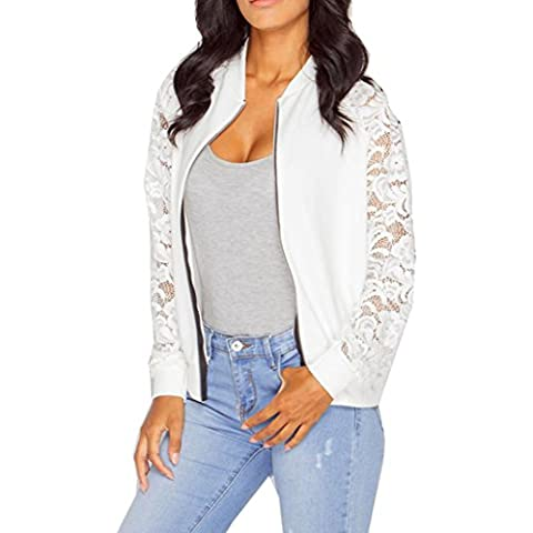 RETUROM Las mujeres atractivas del cordón largo de la manga chaqueta del juego de la chaqueta capa ocasional
