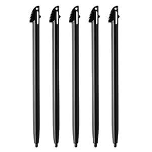 [5pcs-Noir] Stylet stylus stylo pen tactile Pour Jeu console Nintendo 3DS XL/LL