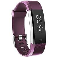 Fitness Armbanduhr, TOOBUR Wasserdicht Fitness Tracker mit Herzfrequenz Schrittzähler Schlafmonitor und Kalorienzähler, Aktivitätstracker Armband Uhr für Android und IOS