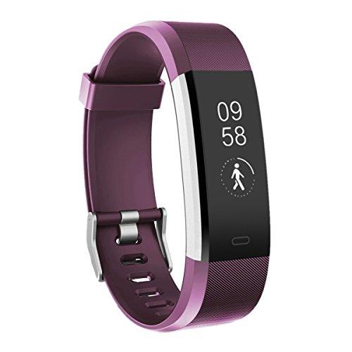 Fitness Armbanduhr, TOOBUR Wasserdicht Fitness Tracker mit Herzfrequenz Schrittzähler Schlafmonitor und Kalorienzähler, Aktivitätstracker Armband Uhr für Damen Frauen Kinder