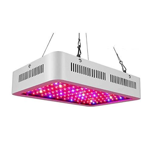 Pflanzenlampe 600-2000W, Aktualisieren Reflektor LED Grow Light Panel mit IR Rot Blau Licht für Gewächshaus Hydroponik Grow Box Veg Wachstum,A2000W