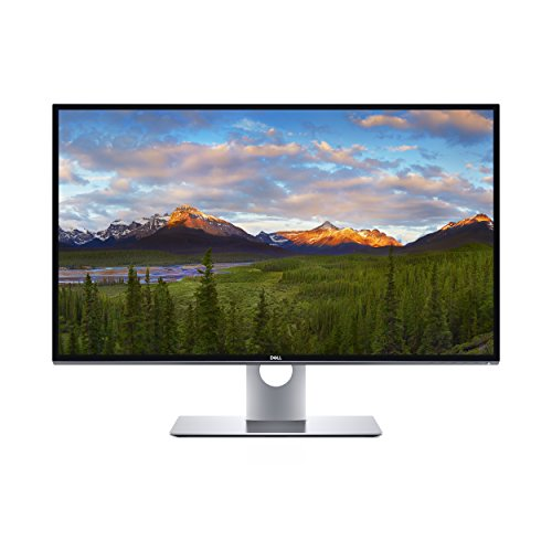 "DELL UltraSharp UP3218K 32"" 8K Ultra HD IPS Matt Black, Silver Flat computer monitor - Computer Monitors (81.3 cm (32""), 7680 x 4320 pixels, LED, 6 ms, 400 cd/m², Black, Silver)"