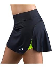 Endless Break Falda de Tenis, Mujer, Negro, S