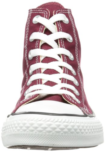 Converse - AS Hi Can charcoal, Sneakers unisex Rosso (Bordeaux)